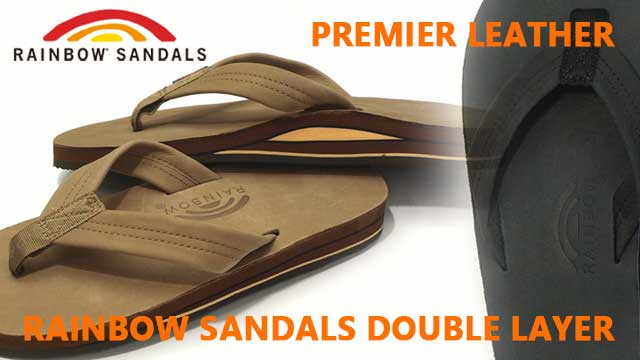 履き心地最高のRAINBOW SANDALS|レインボーサンダルダブルレイヤー
